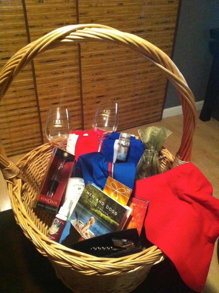 staycation basket
