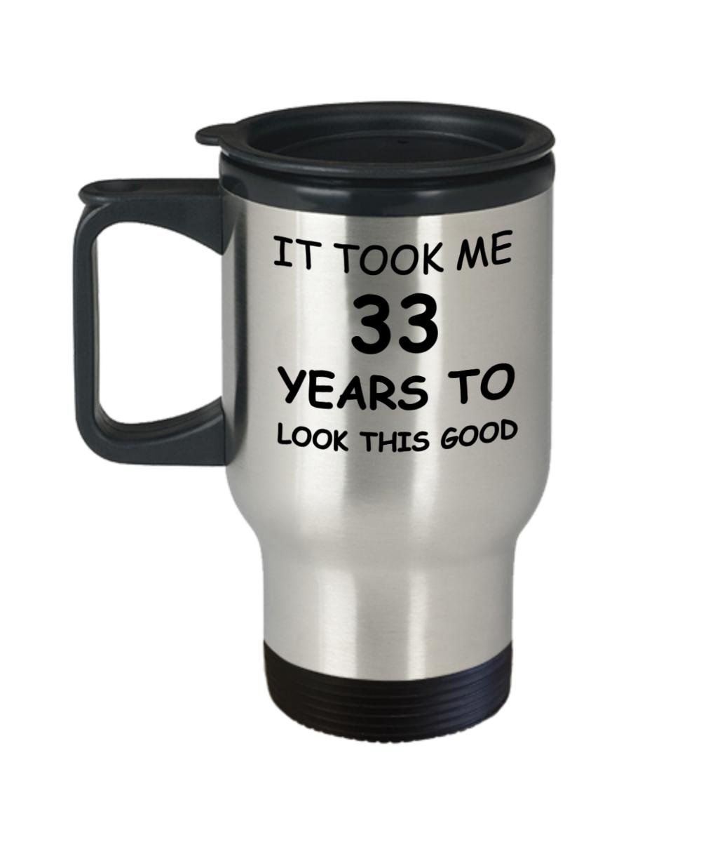 33rd Birthday Gifts For Men Women Gift Mugs
