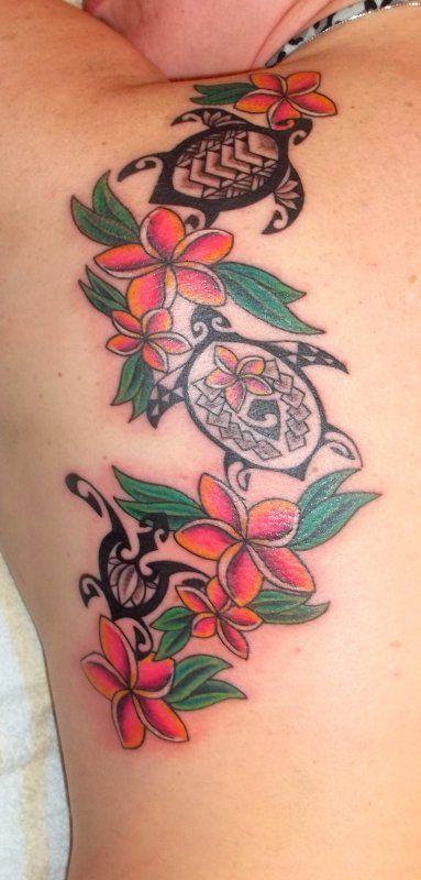 I Love The Plumeria Colors Drawings Tattoos Pinterest