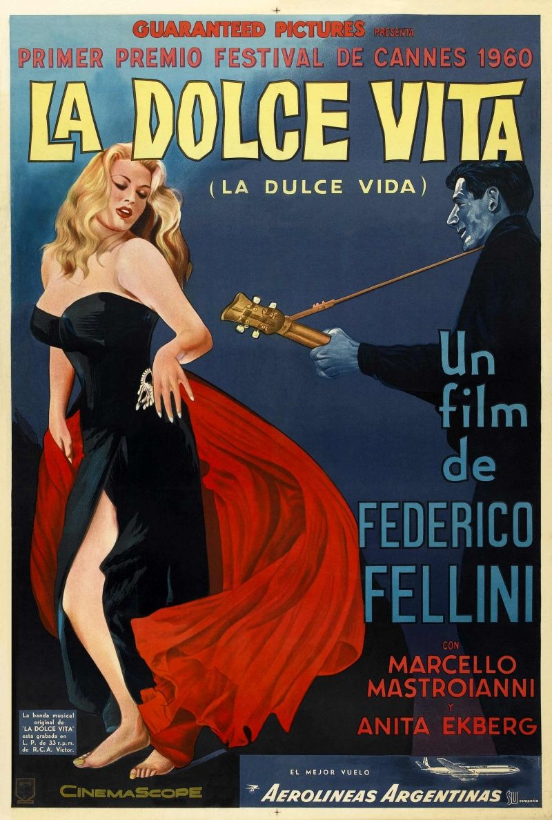 La Dolce Vita Federico Fellini S Izobrazheniyami Starye Filmy