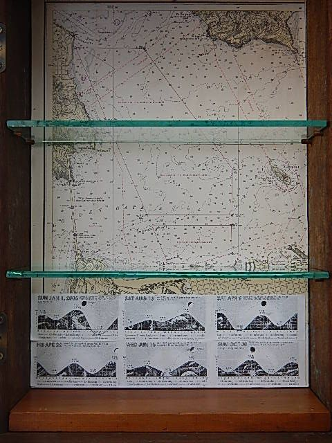 8 There Is A Chart Of San Francisco Bay From 1940s And Tide Chart