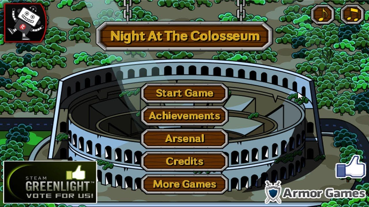 Night At The Colosseum RPG/Training Games Long IT
