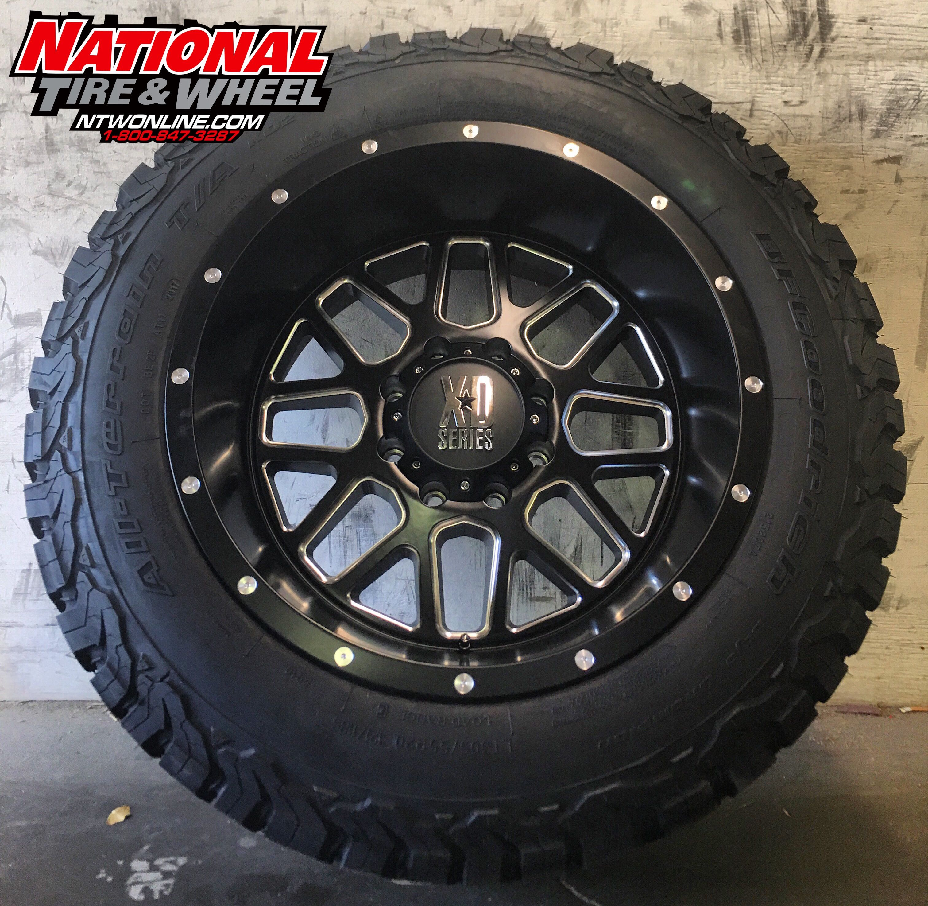 20x12 Xd Series 820 Grenade Mounted Up To A 305 55r20 Bfgoodrich