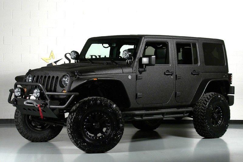 Okay already, I'll drive a Jeep.