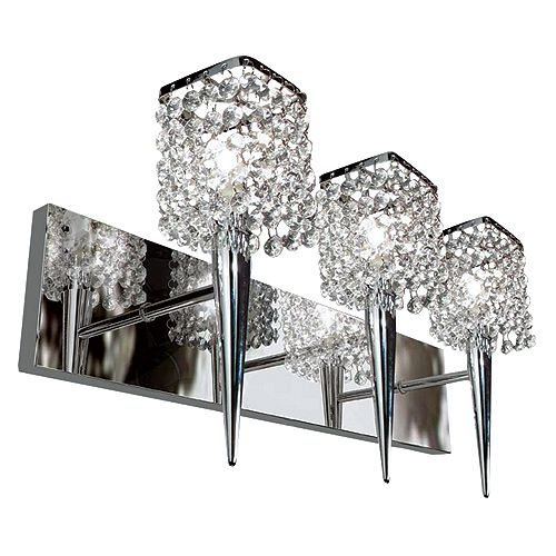 Glam Sephora Light Fixture Rona 90 For Half Bath Wall Sconce Lighting