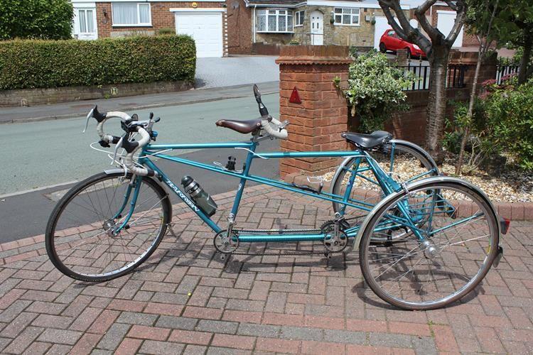 Tandem Trike Conversion Electric Bike Conversion Trike Electric Bike