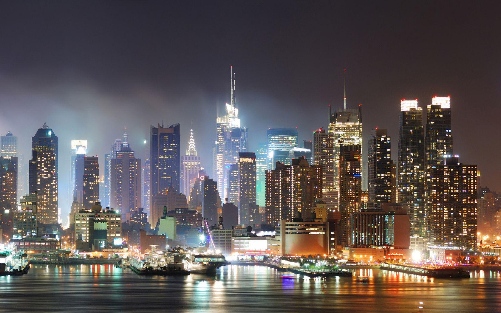 Vols Pas Chere A Los Angeles Ou Dans Les Plus Belles Villes Des Us Avec Notre Comparateur De Voyage New York City Manhattan Skyline Cityscape
