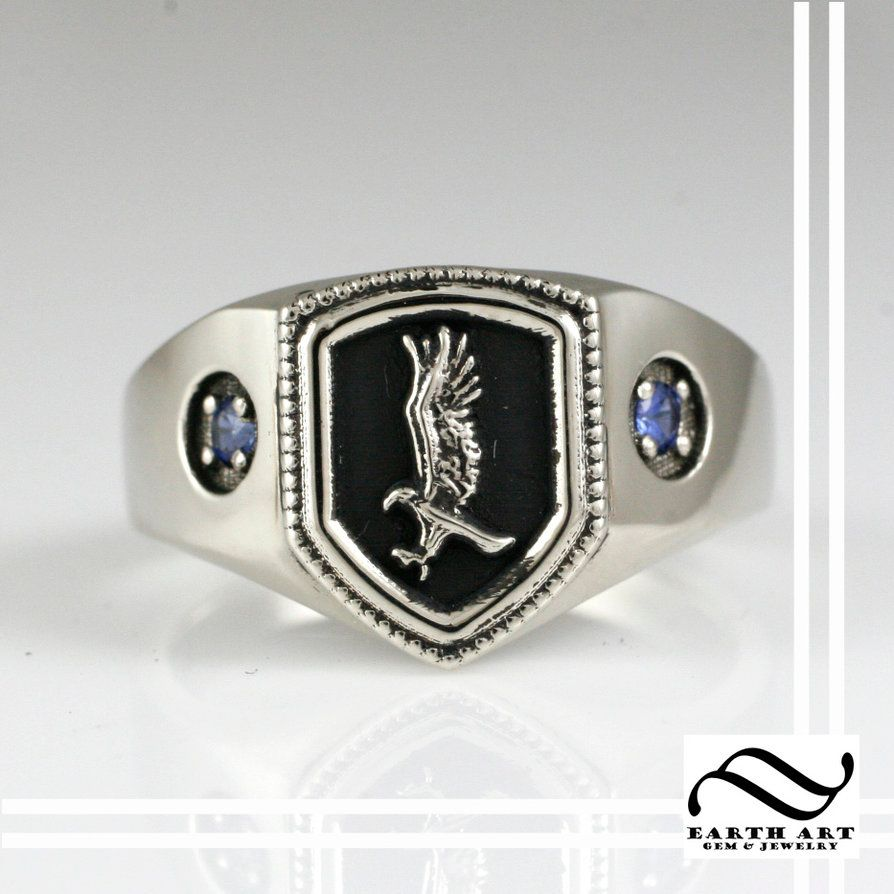 A Ravenclaw house ring! by mooredesign13 on DeviantArt