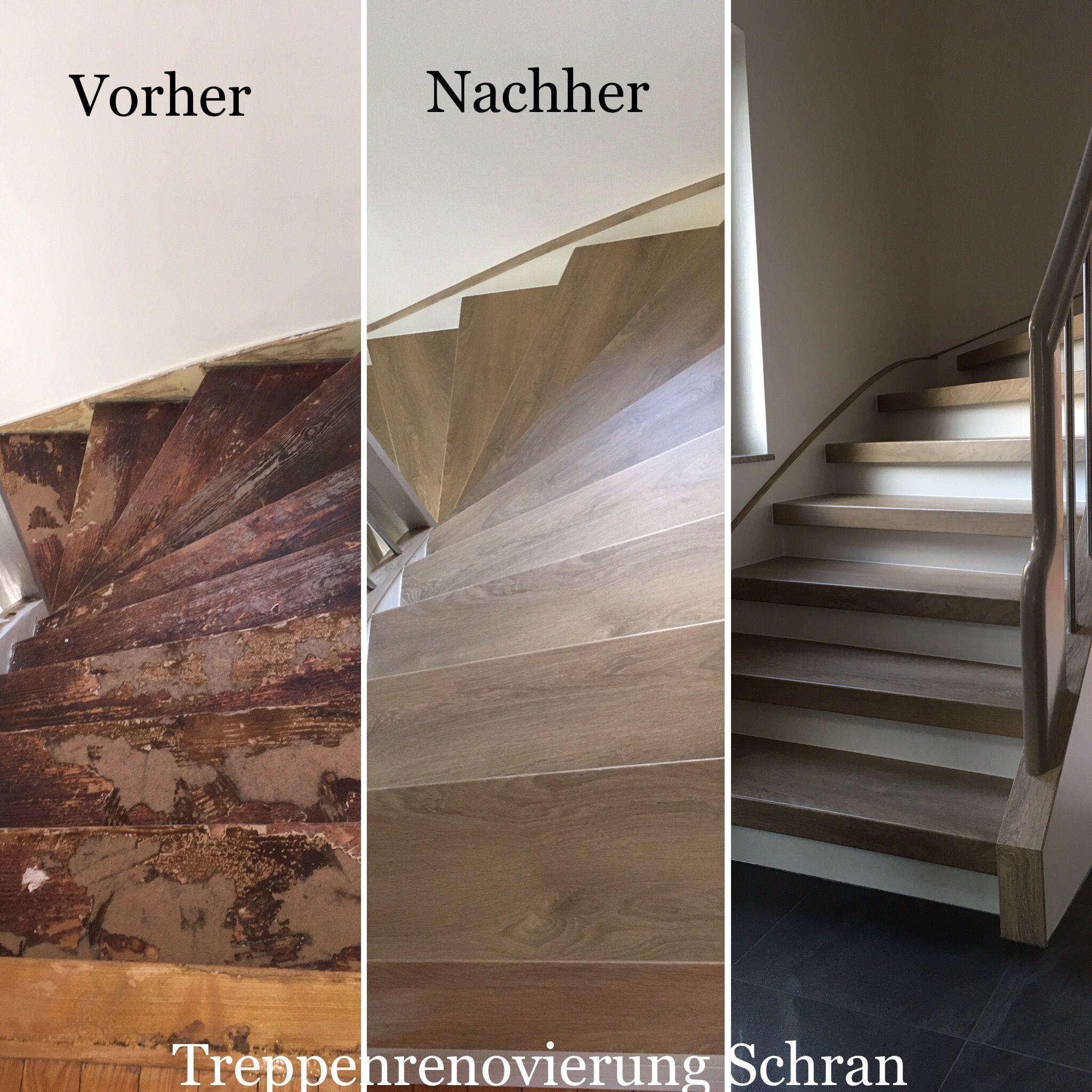 Vor- und- nach- der Renovierung
