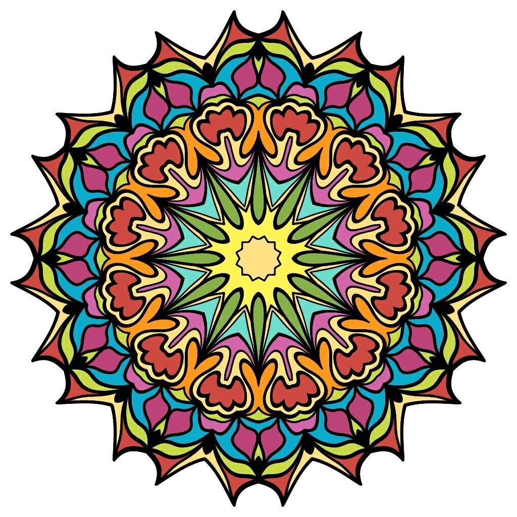 Пин от пользователя Svetlana Lisetska на доске Mandala | Цветы