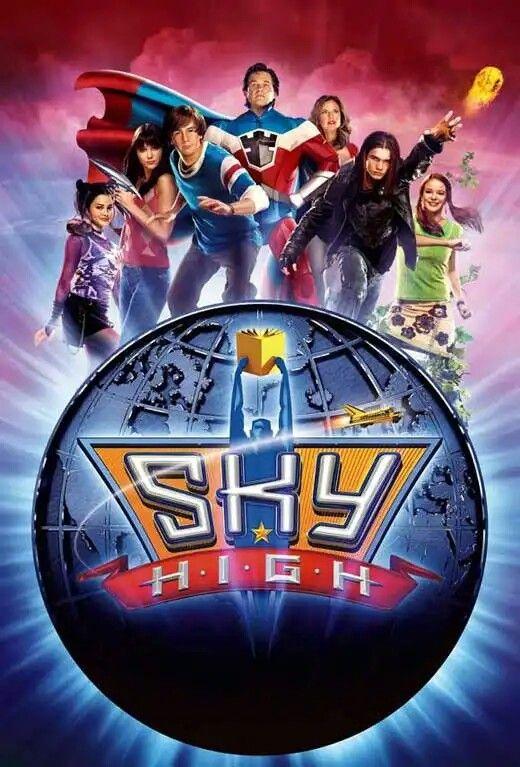 Sky High 2005 Escola De Herois Filmes Familiares Posters De Filmes Filmes Da Disney