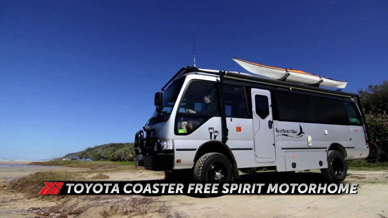 24230ed1ad 4WD Toyota Coaster Motorhome