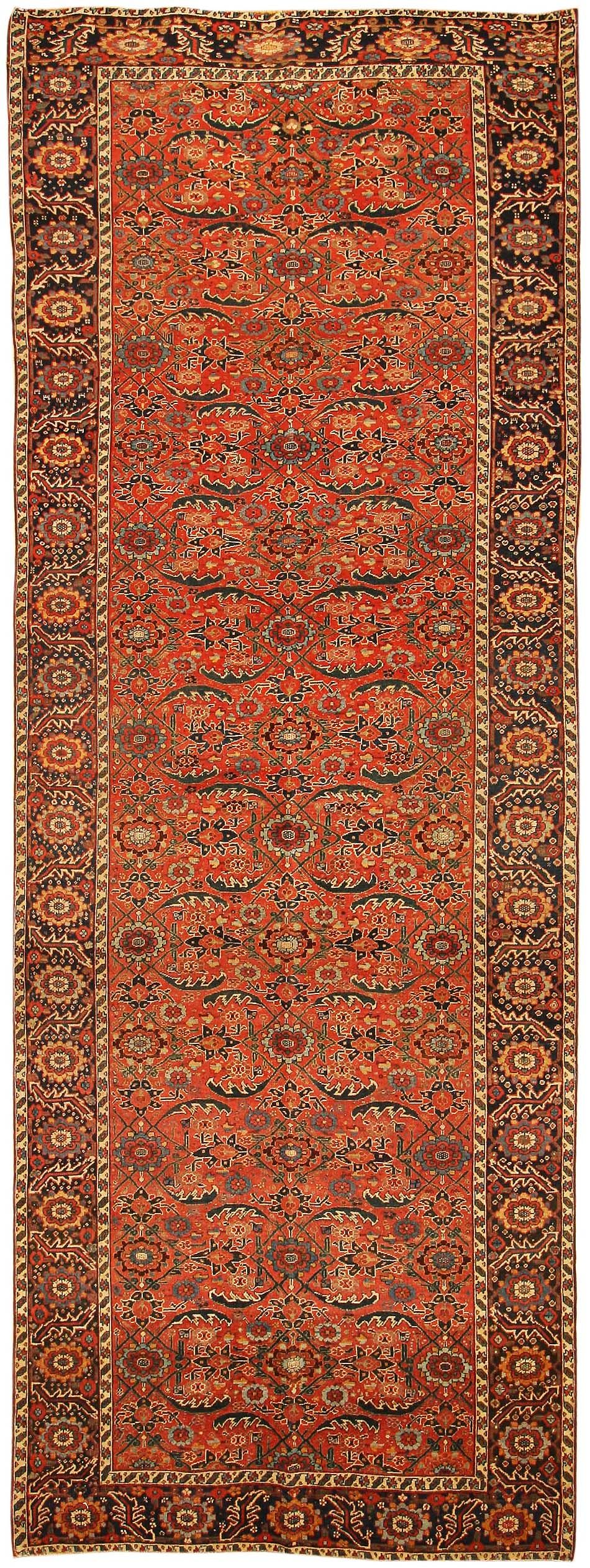 Antique Persian Bidjar Rug 43782