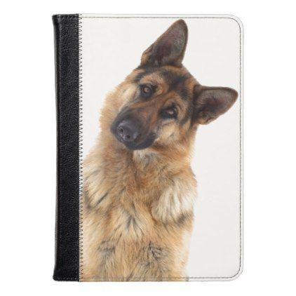 Adorable Funny German Shepherd Portrait Kindle Case Zazzle Com