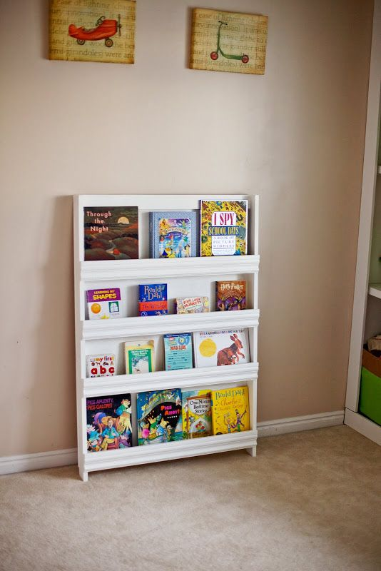 Amazing Ana White Book Display Shelf