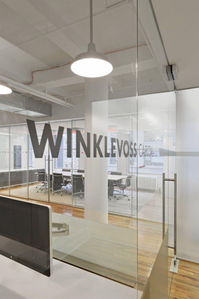 Innenarchitektur York winklevoss capital managements york city offices designed by