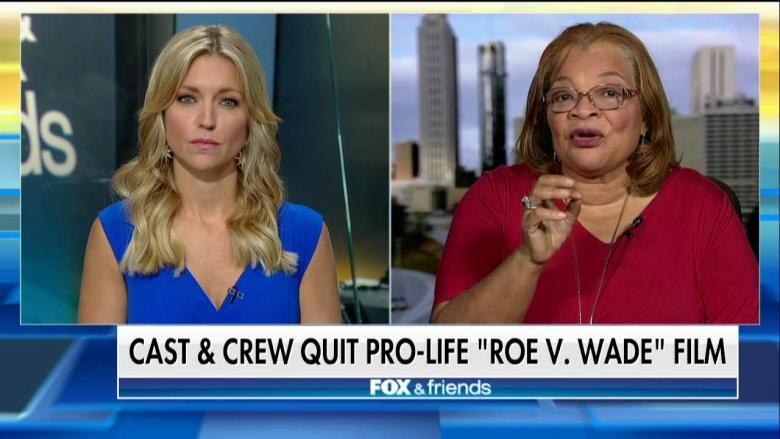 Cast And Crew Quit During Filming Of Pro Life Roe V Wade Film Pro Life It Cast Life