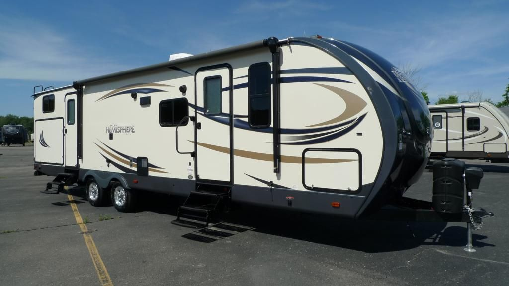 Family Fun For Everyone 2017 Forest River Salem Hemisphere 312qbud This Travel Trailer Is Great Down To The Detai Forest River Forest River Rv Rvs For Sale