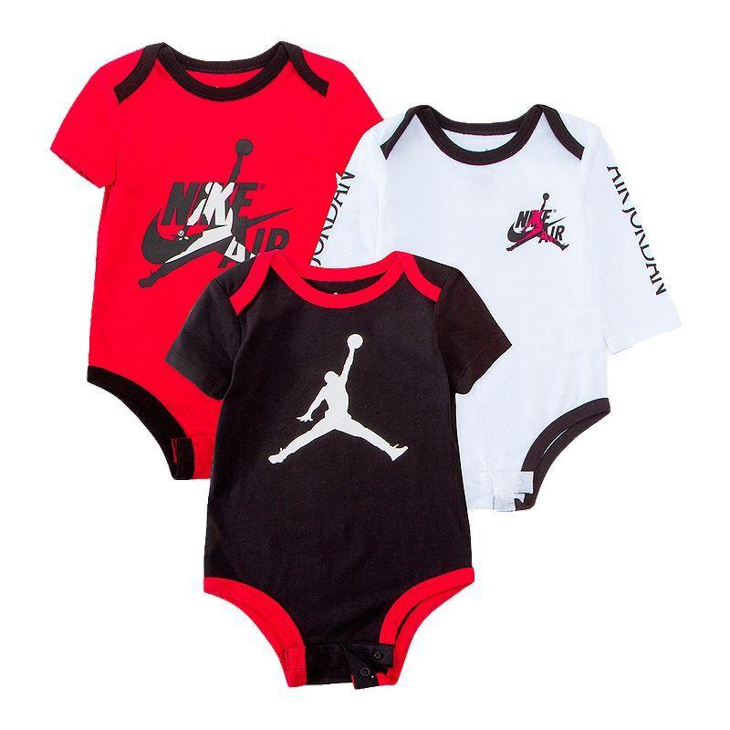 Jordan NB Jumpman Classic Bodysuite 3 Pack Baby jordan