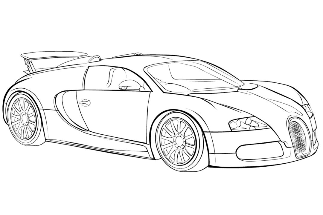 Bugatti Veyron Rear End 4847 In 2020 Race Car Coloring Pages Cars Coloring Pages Cool Coloring Pages