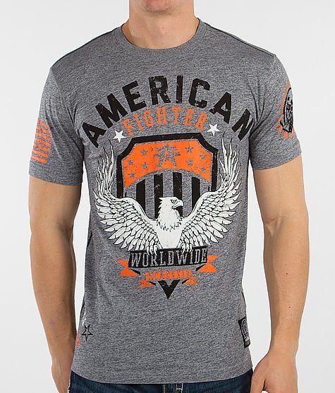 American Fighter Elmhurst T-Shirt - Men's T-Shirts in Heather Grey