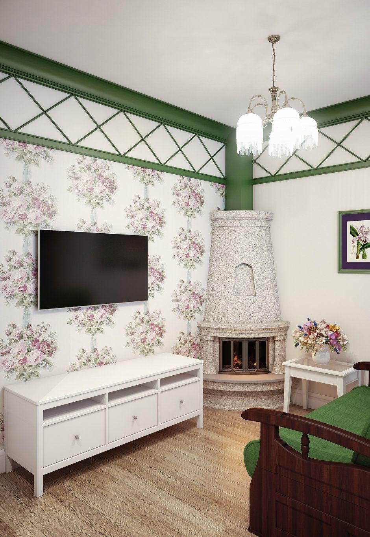 Таунхаус с камином и мебелью ИКЕА: проект Марины Саркисян ...