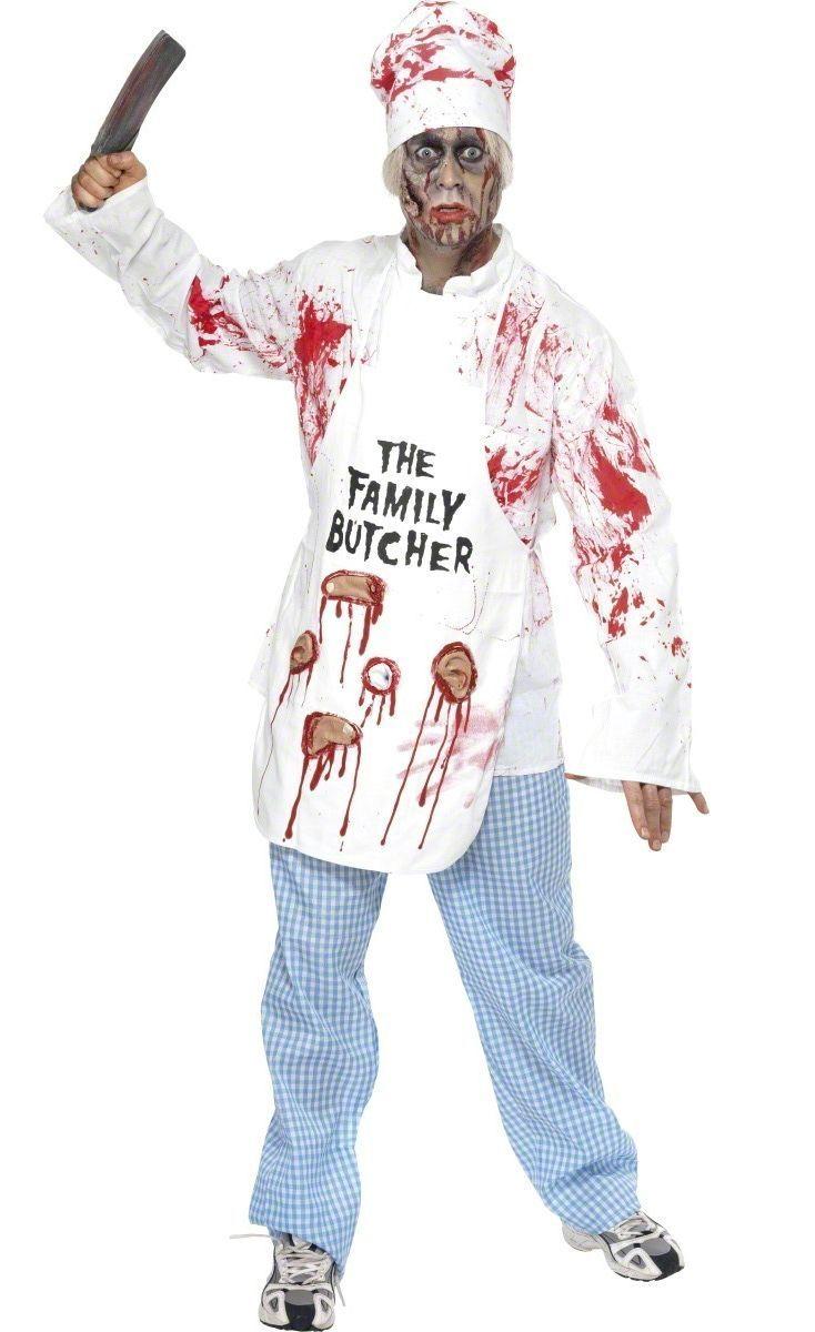 Déguisement zombie chef cuisinier adulte Halloween  c159c49772ed3