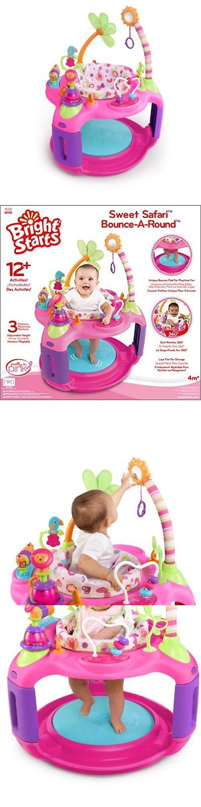 Style Of Baby Bouncer Jumper Activity Pink Girl Safari Seat Play Nursery Entertainment Top Design - Lovely baby bouncer walker Idea