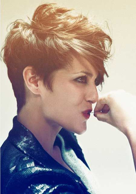 New Trendy Short Hairstyles 2013 I wish I could get my hair to do this!