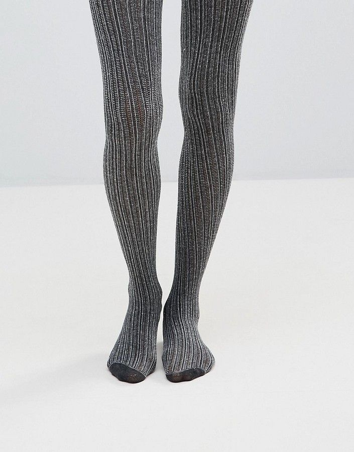 c77fa95dce143 Jonathan Aston Linear Gray Tights | Products