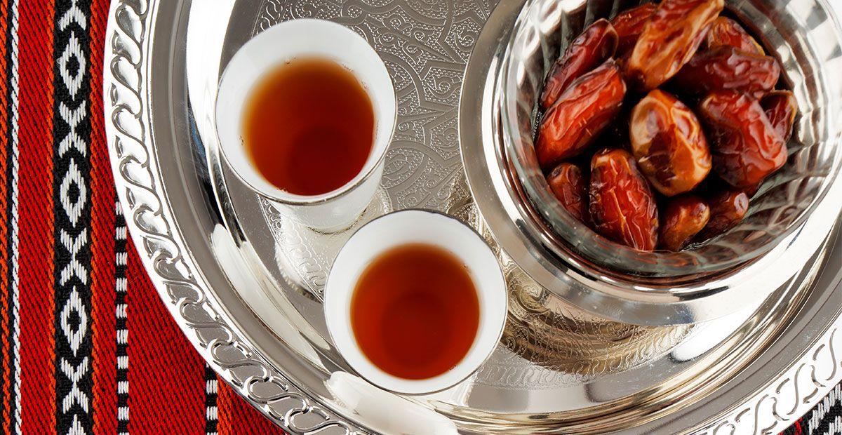 طريقة اعداد القهوة العربية Recipe Cooking Arabic Tea Food