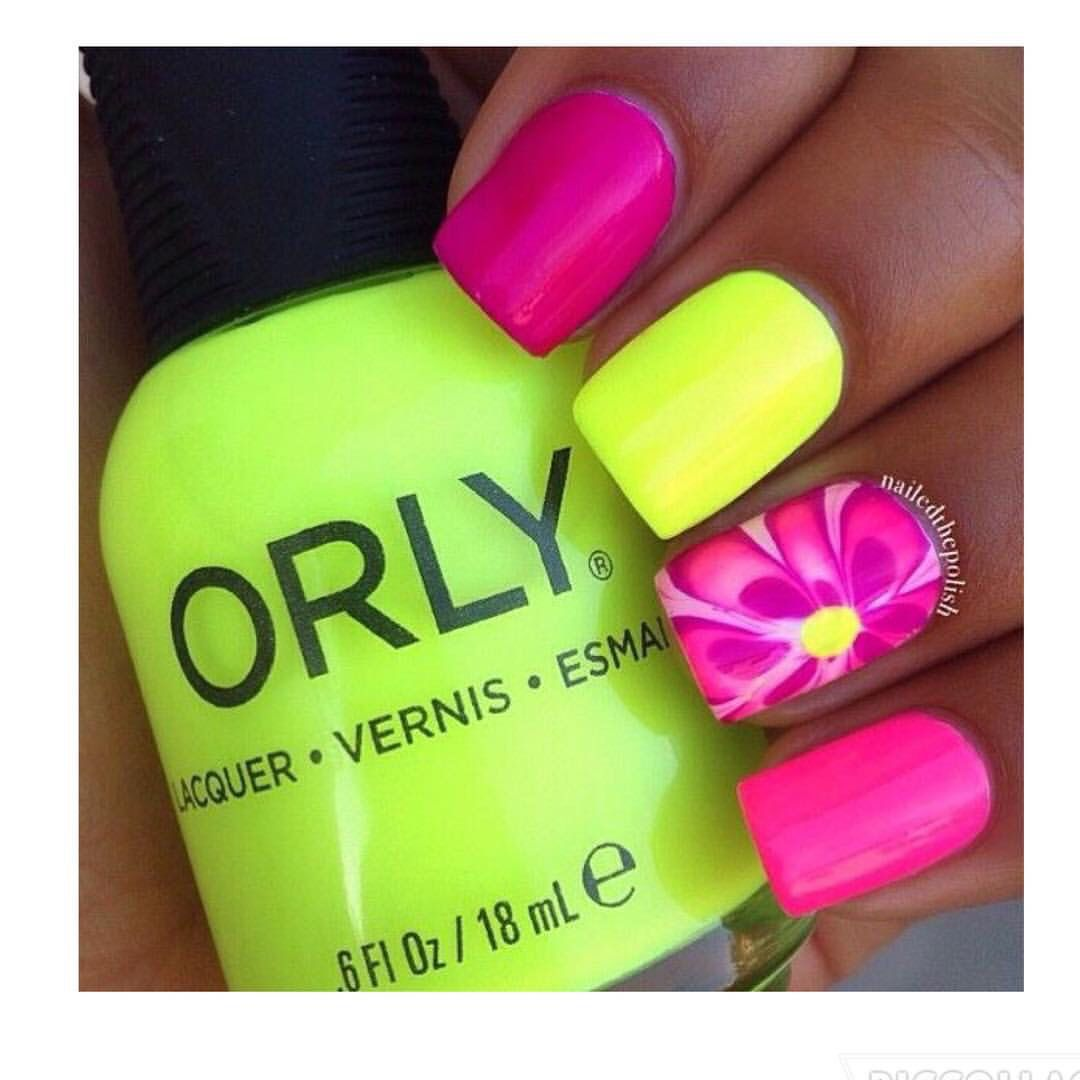 Summer colors! | Summer!!! | Pinterest | Uñas cortas, Diseños de ...