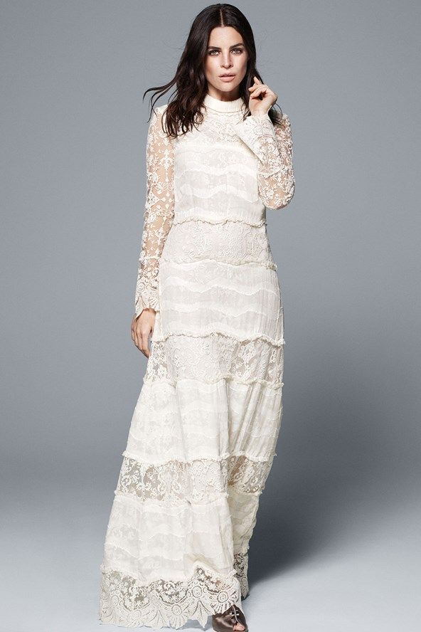 ae6baa66286f H&M Just Added Bridal to Its Conscious Collection | Wedding ...