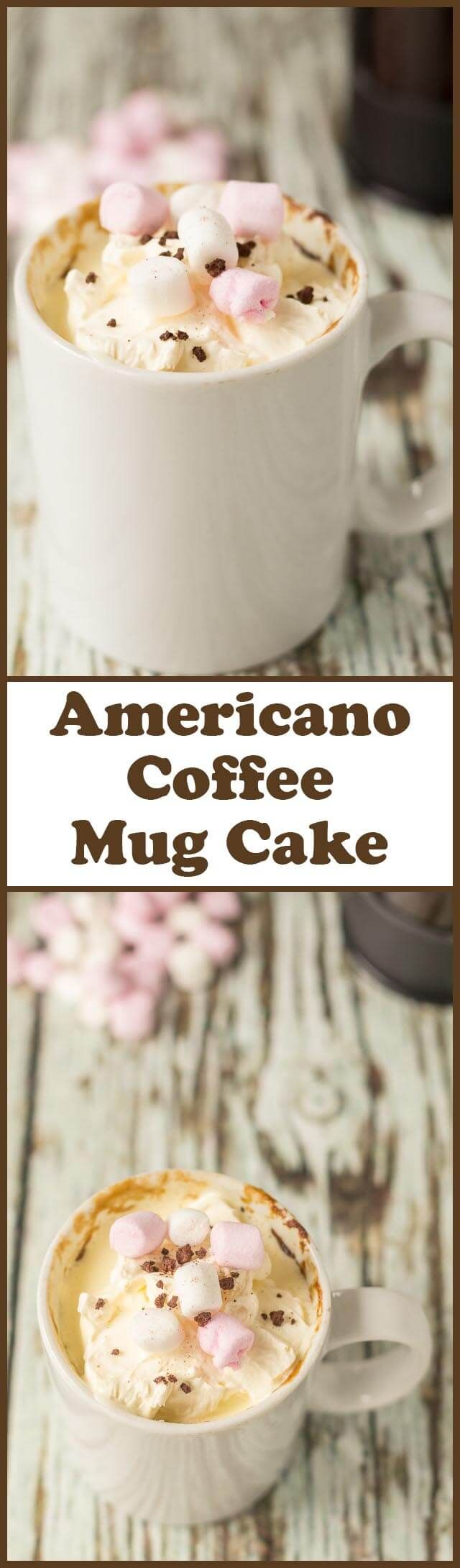 Americano Coffee Mug Cake Recipe Coffe mug cake, Mug