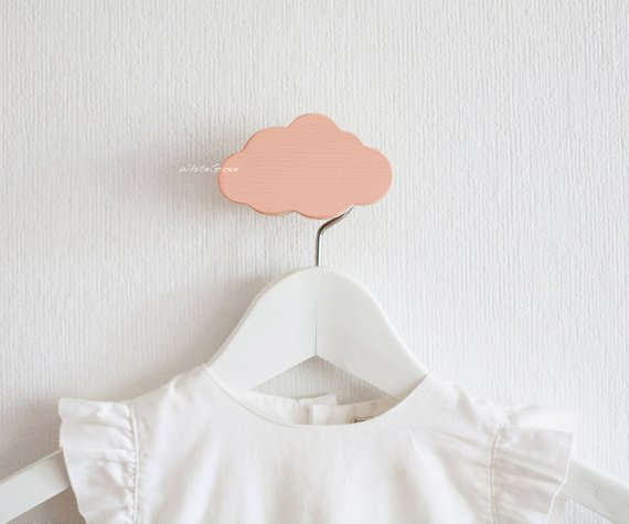 Cloud Wall Hooks Nursery Kids Hook