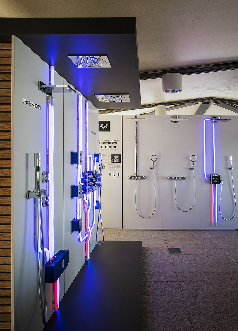 Sanitarios Grohe Ampliacion Showroom Grohe En El Coam 4 Bathroomshowrooms