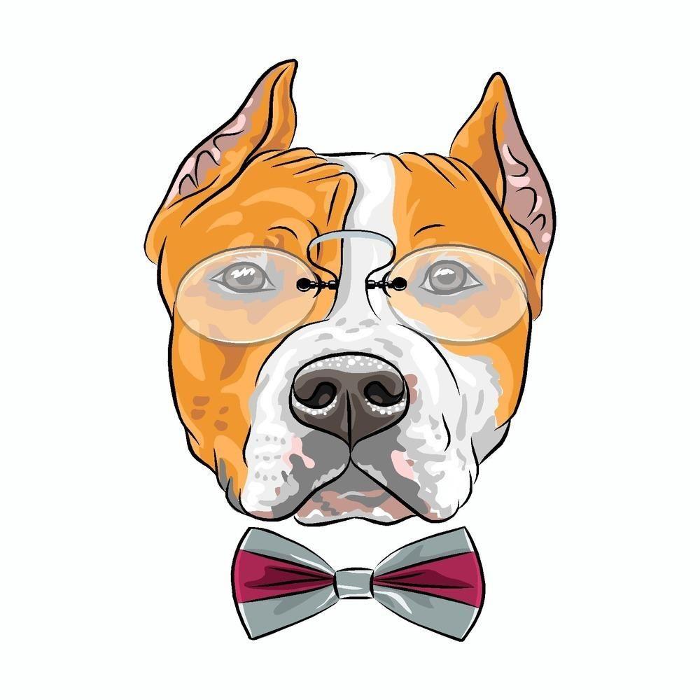 Pitbull Stance Vinyl Decal Sticker Dog Pet Love K9 Pit Bull Love a Bull