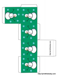 Free Printable Christmas Box Template Different Styles Available Free Christmas Printables Christmas Box Christmas Gift Box