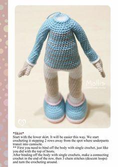 Boneca Lara em crochê, Feita através da receita da Revista ... | 334x236