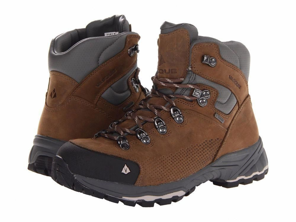 f5b808a7e44 New Vasque Womens St Elias GTX Leather Athletic Hiking Outdoor Mid ...