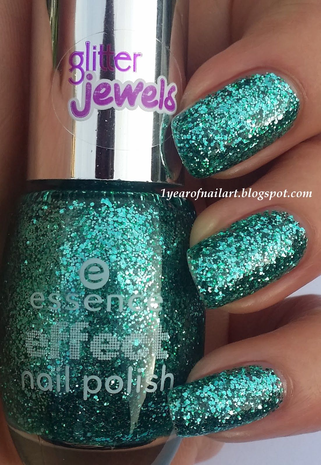 Swatch Essence effect nail polish 06 Party in a bottle | Makeup ...