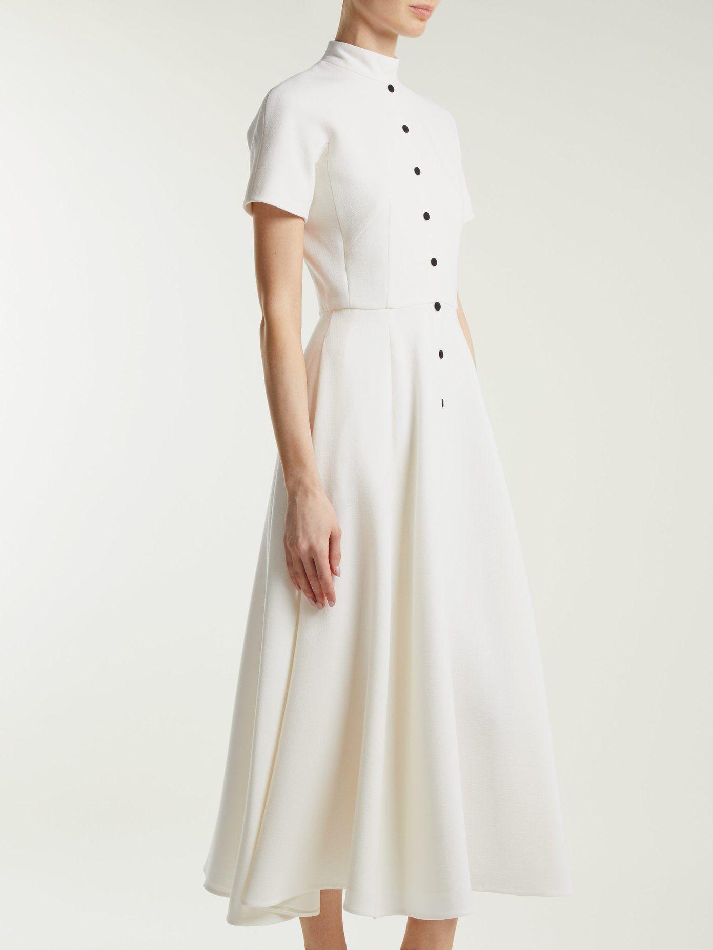3ebd305c7bc94f Camila wool-crepe dress | Emilia Wickstead | MATCHESFASHION.COM ...