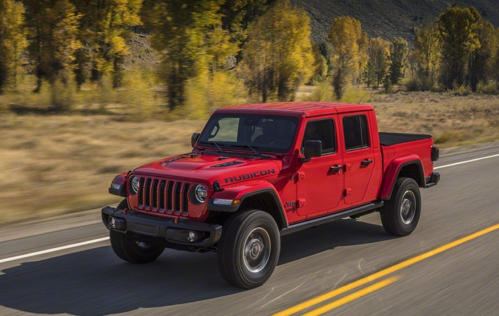 2020 Jeep Gladiator Pickup Pairs Wrangler Style With Go Anywhere 4