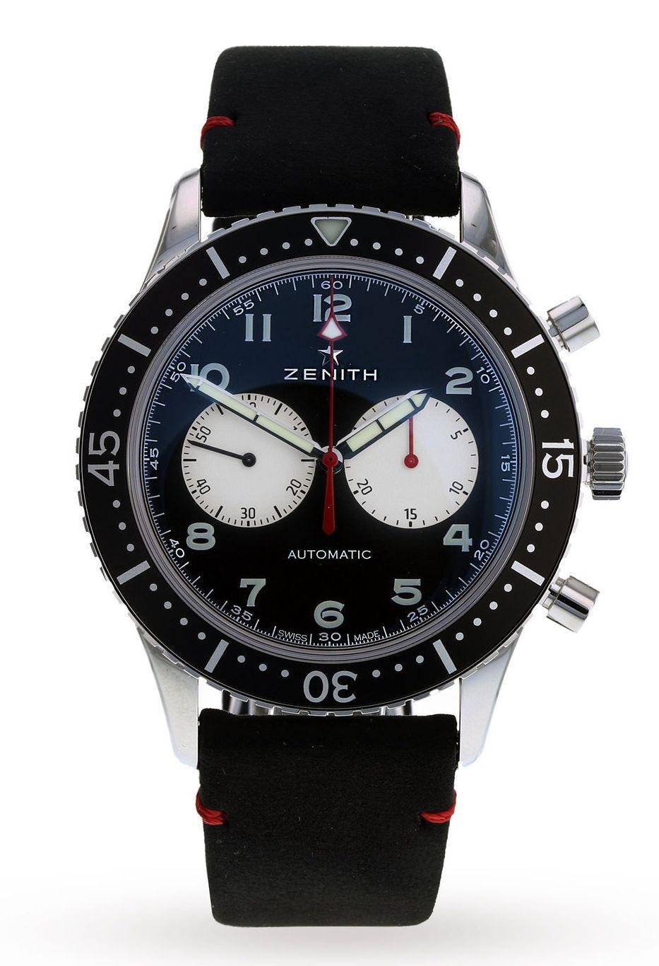 0124c77e8e2 TimeZone   Industry News » N E W M o d e l - Zenith Pilot Cronometro Tipo  CP-2 Limited