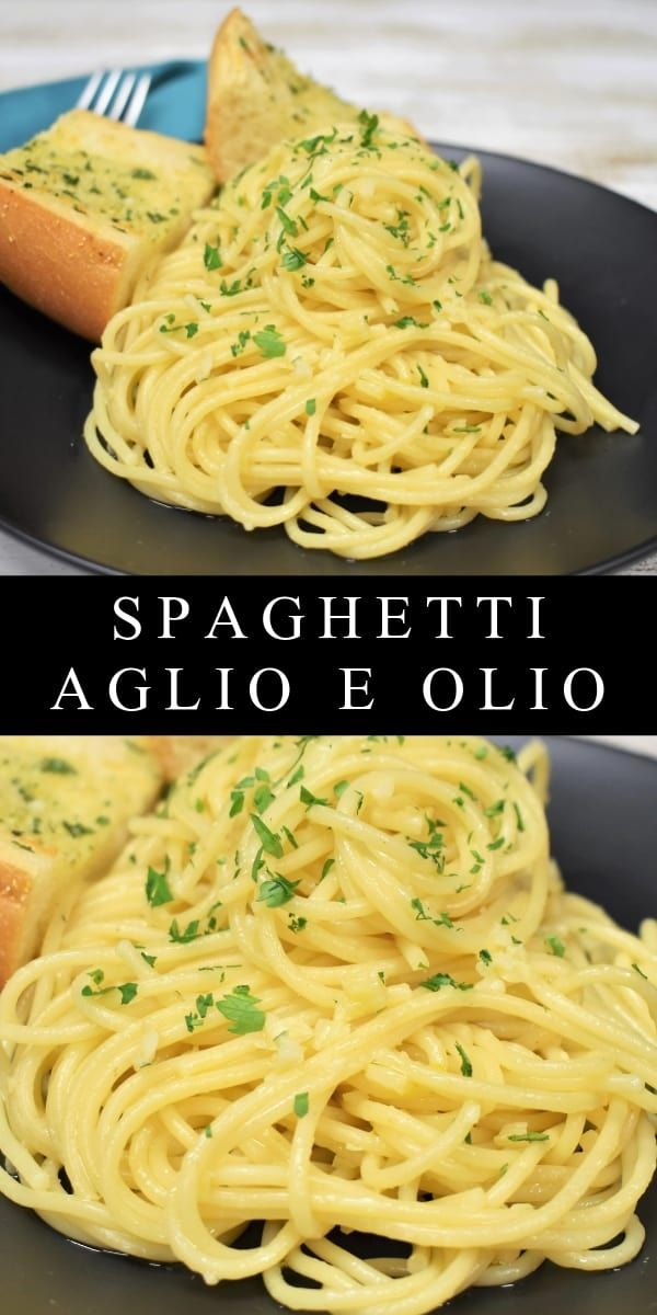 Spaghetti Aglio e Olio is part of Noodle recipes - Spaghetti aglio e olio is the perfect meal when you're low on time, money and energy  In this dish, minced, or thinly sliced garlic, is sautéed gently in olive oil until fragrant