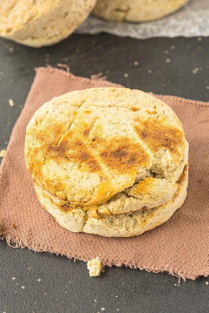 Microwave English Muffin (Keto, Vegan, Paleo) | Recipe ...