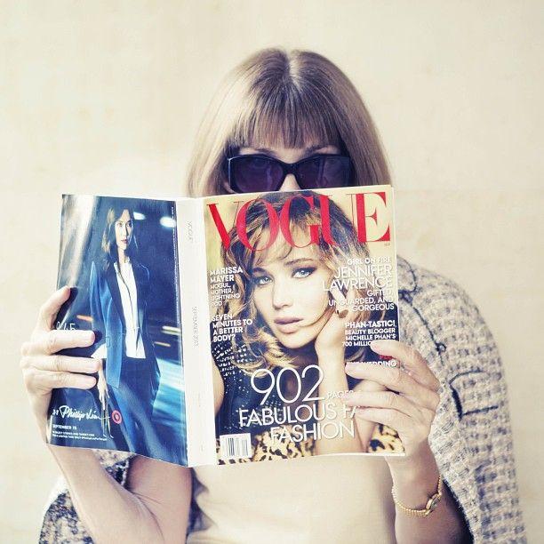 Anna......via @Vogue Magazine