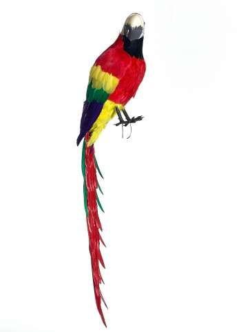 Brasilianische Dekoration deko-papagei 120 cm | olympische spiele 2016 in brasilien / rio