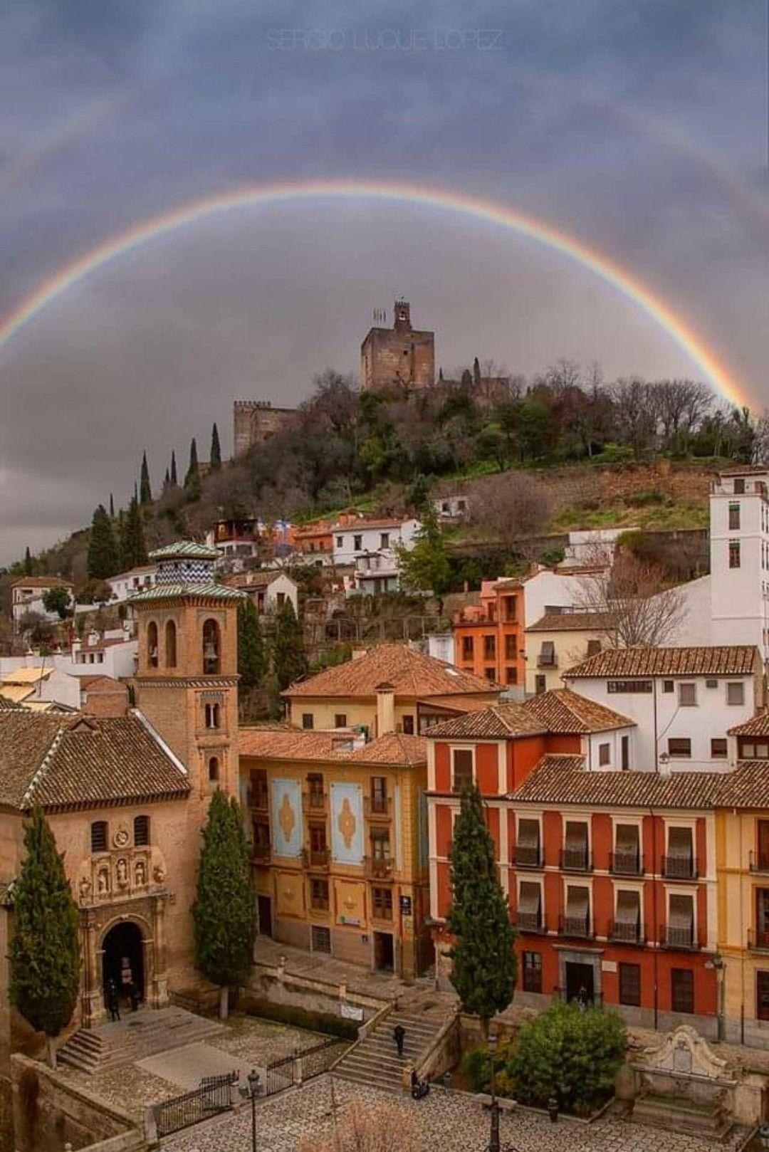 Granada Spain Fotografia Autor Sergio Luque En 2020 Pueblos De Espana Paisajes Espana