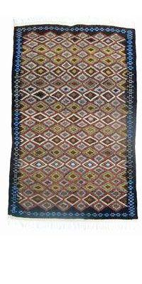 Berber rug 144x200 cm | Textile patterns, Berber rug, Hand ...  |Berber Tribe Fabric